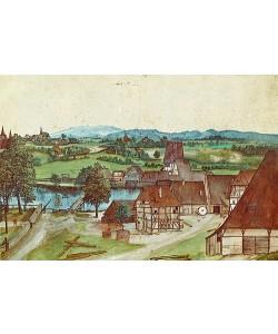 Albrecht Dürer, Die Drahtziehmühle. 1494.