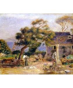 Auguste Renoir, Blick auf Treboul. Um 1895