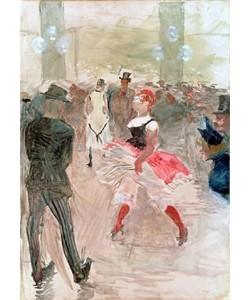 Henri de Toulouse-Lautrec, Im 'Elysée Montmarte'. 1888