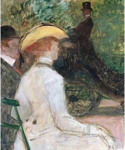 Henri de Toulouse-Lautrec, Im Bois De Bologne. 1901