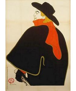 Henri de Toulouse-Lautrec, Aristide Bruant in seinem Kabarett. 1893