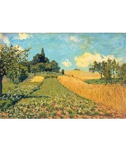 Alfred Sisley, Sommerlandschaft (Kornfeld bei Argenteuil). 1873