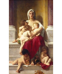 William Adolphe Bouguereau, Caritas. 1878