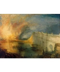 Joseph Mallord William Turner, Der Brand des Parlamentsgebäudes.