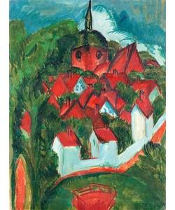 Ernst Ludwig Kirchner, Burg auf Fehmarn. 1912