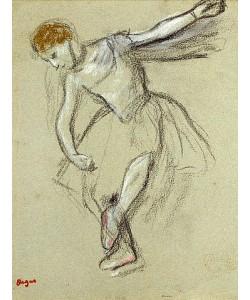 Edgar Degas, Eine Tänzerin im Profil.