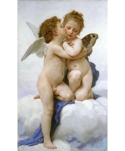 William Adolphe Bouguereau, Der erste Kuss. 1889