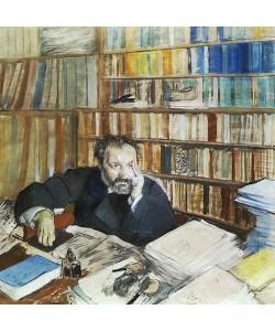 Edgar Degas, Edmond Duranty. 1879