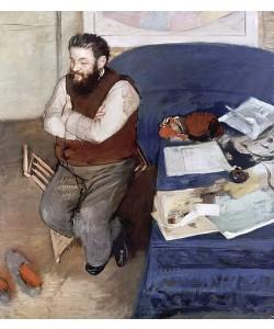 Edgar Degas, Diego Martelli. 1879