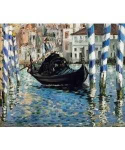 Édouard Manet, Canal Grande in Venedig. 1875
