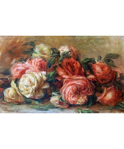 Auguste Renoir, Welkende Rosen.
