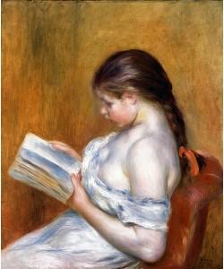 Auguste Renoir, Die Lektüre. 1888