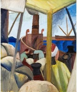 August Macke, Hafen in Tunis. 1914