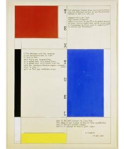 Piet Mondrian, Textuel. (Text von M. Seuphor). 1928