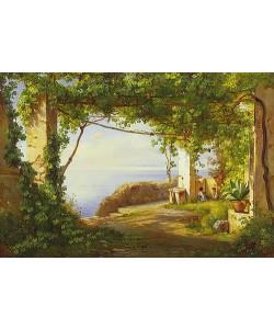 Carl Frederick Aagaard, Sorrento. 1875