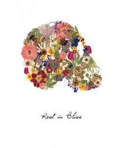 Victoria Brown, FLOWERS SKULL II