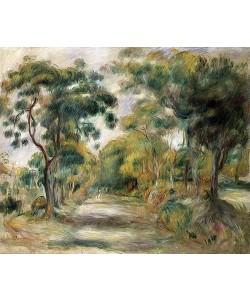 Auguste Renoir, Landschaft in der Mittagssonne. 1900
