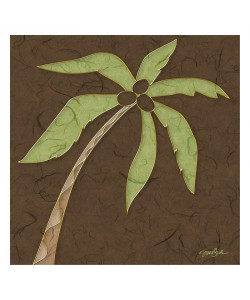 Diane Stimson, PALM WITH BROWN I