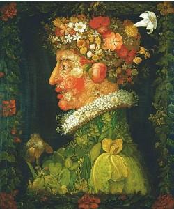 Giuseppe Arcimboldo, Der Frühling. 1573