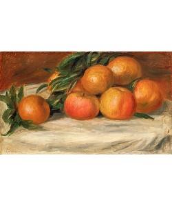 Auguste Renoir, Stillleben mit Äpfeln und Orangen. Um 1901