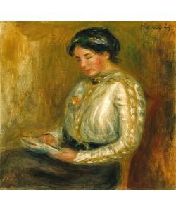 Auguste Renoir, Lesende.