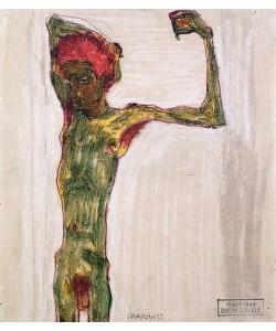 Egon Schiele, Der Anarchist. Um 1909-10