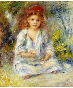 Auguste Renoir, Kleines algerisches Mädchen. Um 1881
