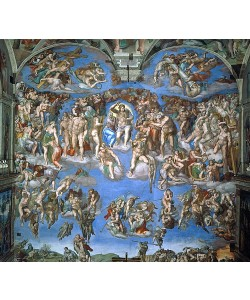 Michelangelo, Das jüngste Gericht. 1534-41