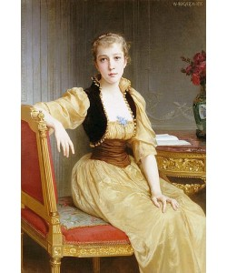 William Adolphe Bouguereau, Lady Maxwell.