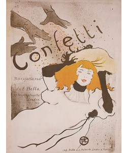 Henri de Toulouse-Lautrec, Confetti. 1895