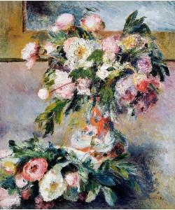 Auguste Renoir, Pfingstrosen. 1878