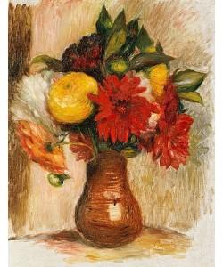 Auguste Renoir, Blumenstrauß in einem Krug.