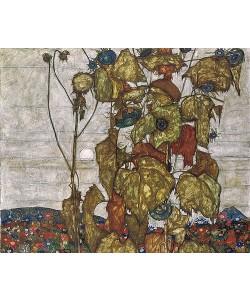 Egon Schiele, Herbstsonne. 1914