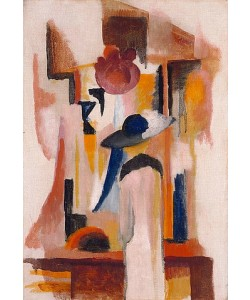 August Macke, Studie zu 'Hellem Schaufenster'. 1913
