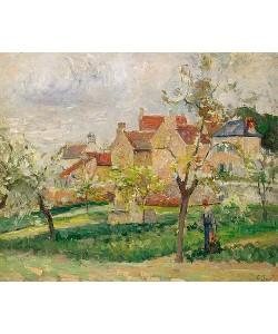 Camille Pissarro, Der Gemüsegarten.