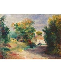 Auguste Renoir, Landschaft bei Cagnes.