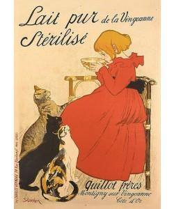 Théophile-Alexandre Steinlen, Werbeplakat für sterilisierte Milch. 1894