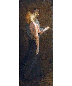 Théophile-Alexandre Steinlen, Der Kuss.