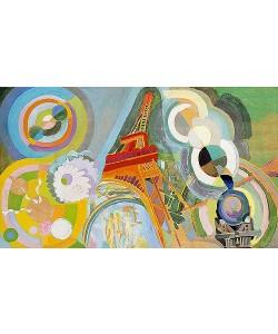 Robert Delaunay, Luft, Feuer und Wasser (Studie). 1937