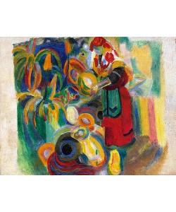Robert Delaunay, Studie für die große Portugiesin. 1915