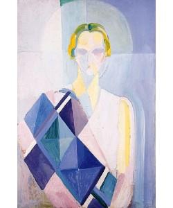 Robert Delaunay, Bildnis der Madame Heim. Um 1926-27