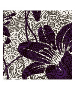 Kristin Emery, PATTERN FLOWERS I