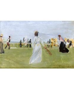 Max Liebermann, Tennisspieler am Meer (Scheveningen). 1903
