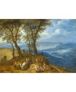 Jan Brueghel d.Ä., Rückkehr vom Markt. 1600
