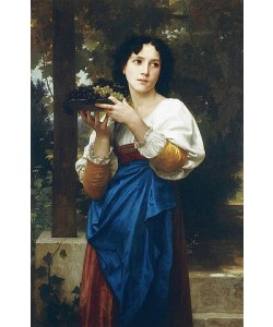 William Adolphe Bouguereau, In der Weinlaube. 1898 (?)