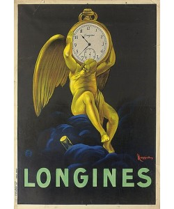 Leonetto Cappiello, Longines. 1922 (gedruckt bei Vercasson, Paris)