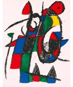 Miro Joan Volume 2 Blatt 2 (Lithog. Buchauflage)