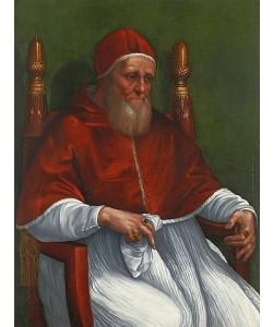 Raffael (Raffaello Sanzio), Bildnis des Papstes Julius II. 1511/12