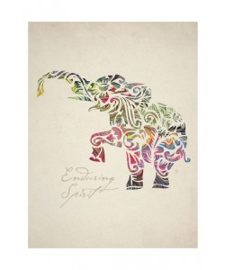 Melody Hogan, COLORFUL ELEPHANT II