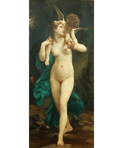 William Adolphe Bouguereau, Venus und Amor.